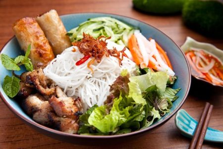 cach lam bun thit nuong